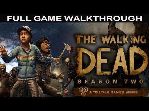 The Walking Dead Season 2 Full Game Walkthrough - No Commentary (Telltale Games)