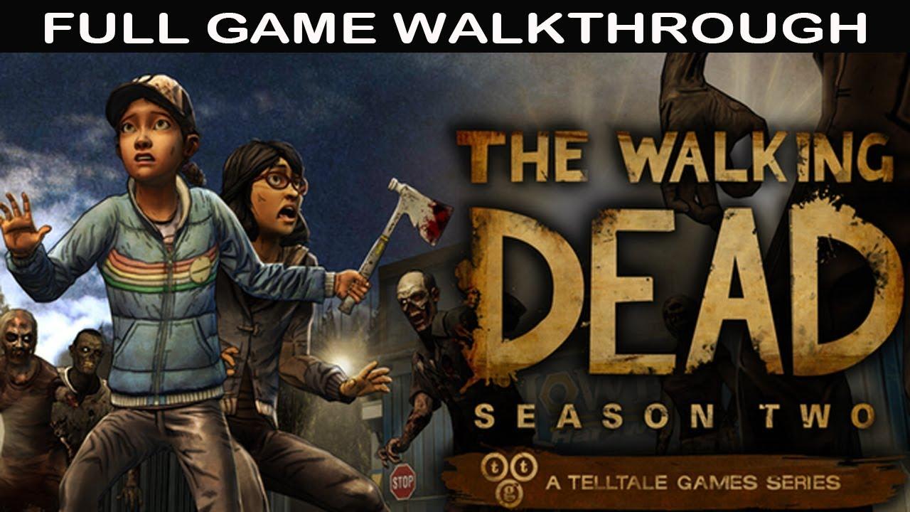 Download The Walking Dead Season 2 Full Game Walkthrough - No Commentary (Telltale Games)