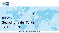 IHK-Webinar: Sourcing in der Türkei (17. Juni 2020)
