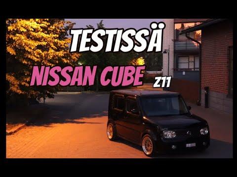 Testissä  - Nissan Cube Z11