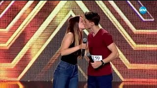 Виктория и Марио - X Factor кастинг (24.09.2017)