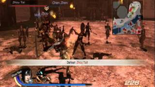 Dynasty Warriors 7 - Zhao Yun Gameplay