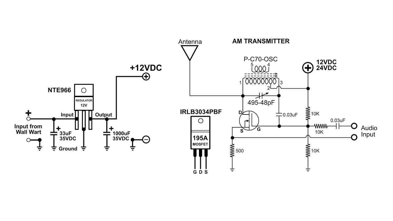 AM Transmitter Power Supply Build And Demo