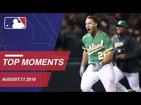 Top 10 Plays of the Day - August 17, 2018