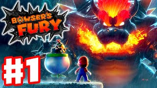 Bowser's Fury - Gameplay Walkthrough Part 1 - Scamper Shores and Fort Flaptrap! (Nintendo Switch)