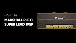 Marshall Plexi Super Lead 1959 Plug-in – Softube