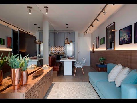 Projeto moderno e original da designer de interiores for Sala design moderno