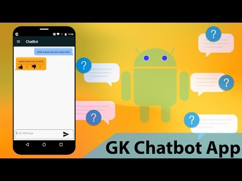 Android GK Chatbot App Project