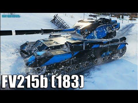 С перепугу взял и затащил ✅ World of Tanks лучший бой на БАБАХЕ FV215b (183)