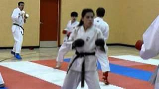 Competitive Karate Training In Winnipeg, Manitoba 2012
