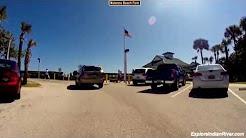 Drive through Wabasso Beach Park, Wabasso, Florida