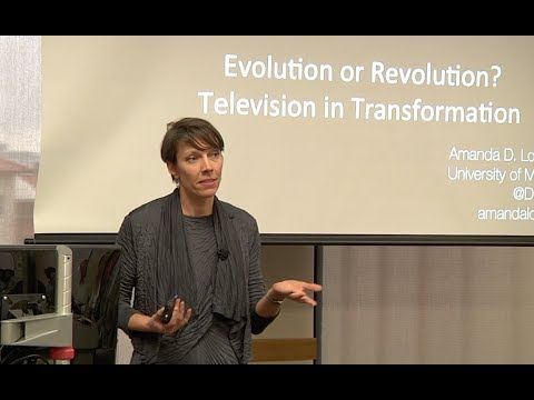 Global Media Industries Speaker Series: Evolution or Revolution?  Television in Transformation