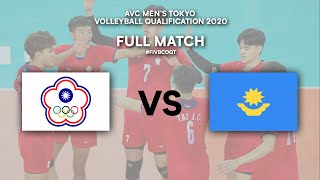 TPE vs. KAZ - Full Match | AVC Men's Tokyo Volleyball Qualification 2020