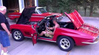 1967 Corvette first start up after 42 years part 1.