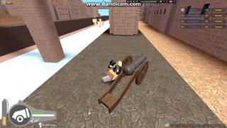 Roblox - How to use the cannon in Attack on titan Downfall