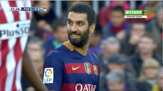 Arda Turan vs Atletico Madrid (Home) (11/01/2016) 1080p HD
