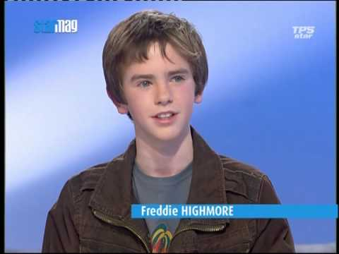 "Interview de Freddie Highmore ""August Rush"" 3/3"