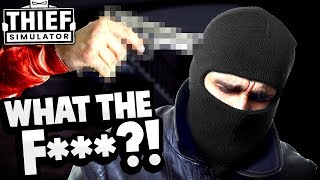 Crazy Guy Pulls Gun on Thief After Cracking a Safe! - Thief Simulator Gameplay