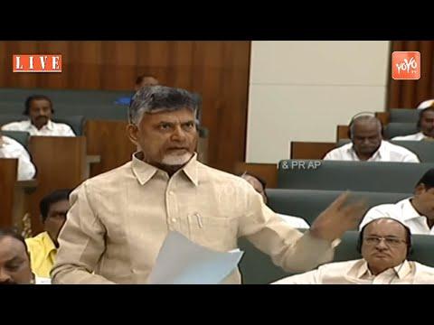 Chandrababu Naidu Speech Today In AP Assembly   Ambati Rambabu   TDP Vs YCP   YOYO TV Channel