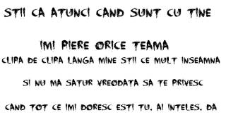 Lidia Buble feat. Adrian Sina - Noi Simtim La Fel (LYRICS)