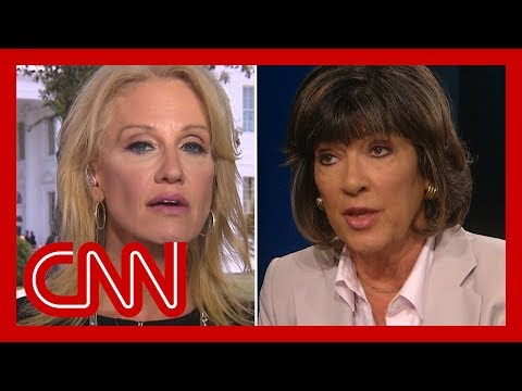 Amanpour clashes with Conway over Trump's rhetoric