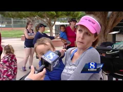 'Stroller warriors' running in Big Sur Marathon
