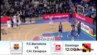 Fc barcelona vs cai zaragoza ...