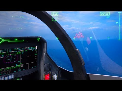 HMDS III F-35 Pilot Helmet Inside CGI Views Lightning II Aircraft