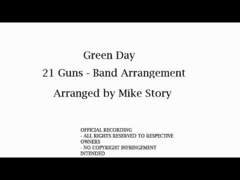 Green Day  21 Guns  Band Arrangement  Arr Mike Story