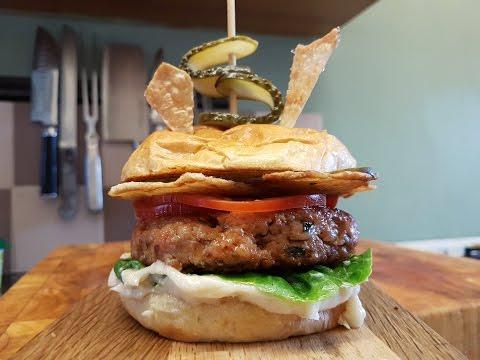 The Hacken. Chicken And Ham Burger. #SRP