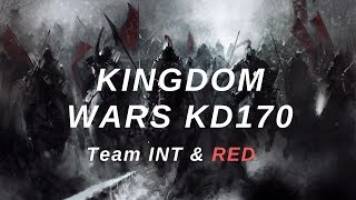 Clash of Kings: Kingdom wars of 170 kd! Team INT & RED!!! from 600m to ZERO!! (2019)