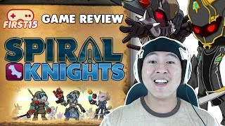 GAME REVIEW - First 15 Minutes Gameplay and Review - Spiral Knights