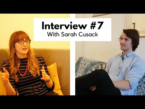 Interview #7: Talking about grief with Sarah Cusack