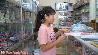 Hồng Anh Đi Mua Đồ Dùng Học Tập Chuẩn Bị Cho Năm Học Mới - Back To School Shopping