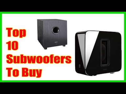 Best Subwoofers You Can Buy in 2018