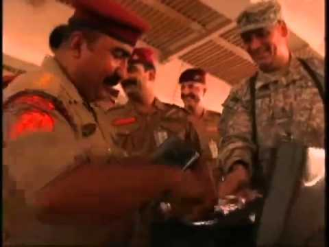 Donating band equipment to Iraq