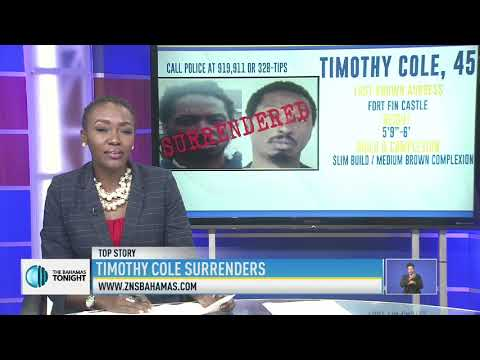 TIMOTHY COLE SURRENDERS