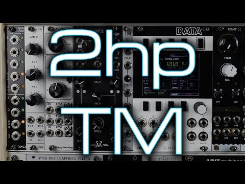 2hp TM Turing Machine // Random modulation, melodies and more for Eurorack synths