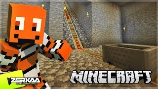 BUILDING A Minecart System In My Base! (Minecraft #42)