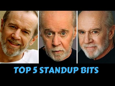 George Carlin - Most Funny Standup Jokes | Savage Moments
