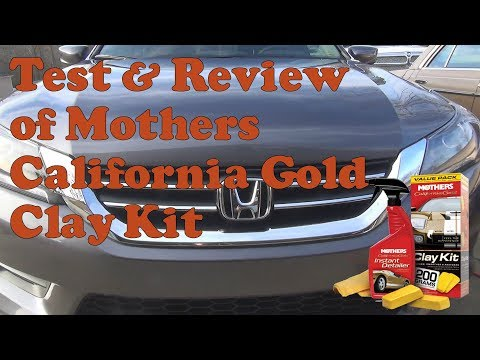 Test and review of Mothers California Gold Clay Bar System