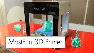 3D Printer - MostFun Pro 3D Printer Review ( SPOILER : NOT the most fun )