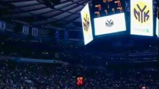 Carmelo Anthony Introduced In Madison Square Garden (Melos Debut)