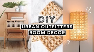 DIY URBAN OUTFITTERS ROOM DECOR + FURNITURE!! (Ikea Hacks)