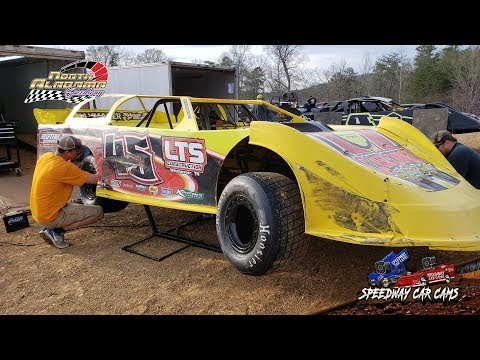 #45 Colton Roberts - 602 Sportsman - 3-23-19 North Alabama Speedway - In Car Camera