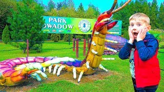 Insects for kids  Learn insects names and sounds Giant insects park for kids Kids video for kids