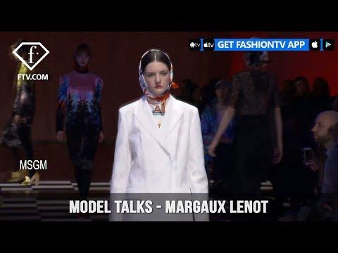 Model Talks Fall/Winter 2017-18 Margaux Lenot   FashionTV