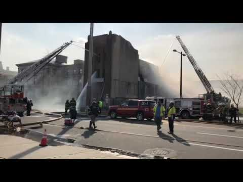 Philadelphia, Pa. 3rd Alarm Building Fire 1500 N. Broad St. 3-29-18