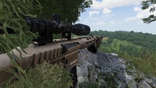 Sniper Ambush on Armored Convoy ! In Military Simulator Game Arma 3 RHS Mod