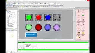 Vijeo Designer Tutorial #3 (Magelis HMI) Linking the HMI variables to the Twidosuite PLC